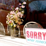 Sorry, we lijken open maar we zijn gesloten.